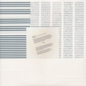 David Bowie - Love Is Lost (Hello Steve Reich Mix By James Murphy For The DFA) - 44-102199 - ISO RECORDS