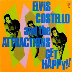 Elvis Costello & The Attractions - Get Happy!! - 602547331106 - RYKO DISC