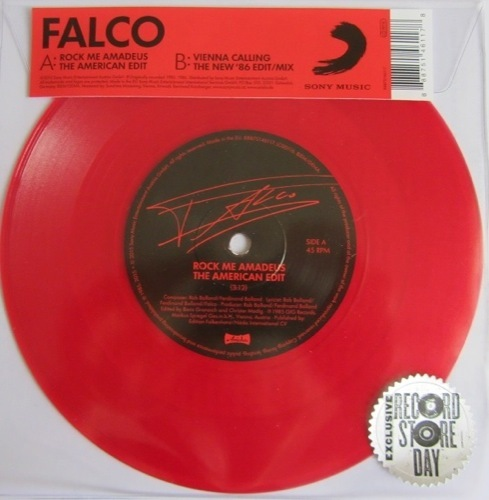 Falco - Rock Me Amadeus - 88875146117 - SONY MUSIC