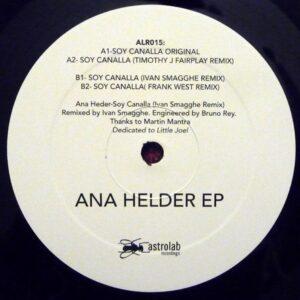 Ana Helder - Ana Helder EP - ALR015 - ASTRO LAB RECORDINGS
