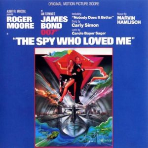 Marvin Hamlisch - The Spy Who Loved Me (Original Motion Picture Score) - B0023042-01 - CAPITOL RECORDS