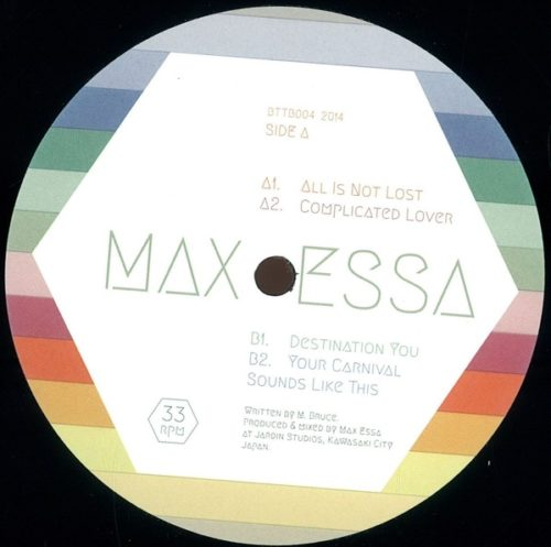 Max Essa - Your Carnival Sounds Like This Ep - BTTB004 - BACK TO THE BALEARICS