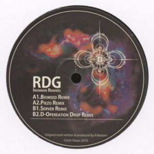 Rdg / Bisweed / Pie - Ironman Remixes - CV002 - CIRCLE VISION