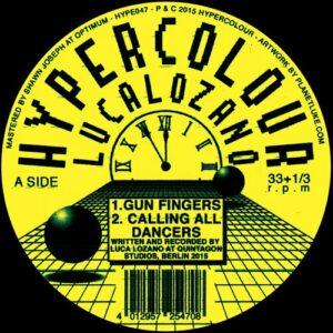 Luca Lozano - Gun Fingers (incl. Dj Sotofett Remixes) - HYPE047 - HYPERCOLOUR