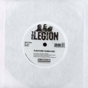 The Legion - Straight Flow / Automatic Systematic - IAR003 - ILL ADRENALINE RECORDS