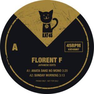Florent F - Japanese Edits - KAT45007 - KAT 45