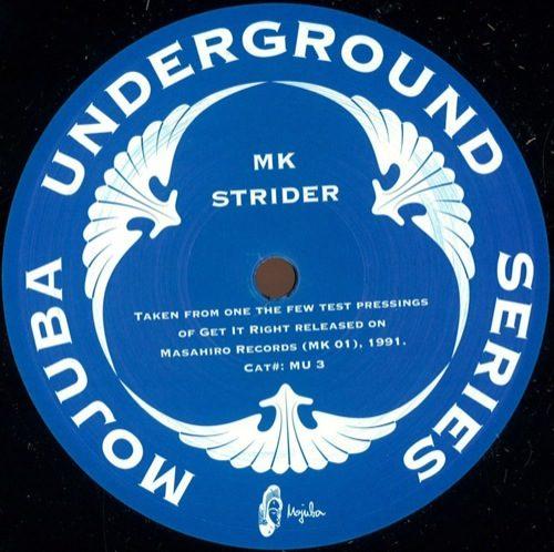 MK - Strider (Oracy remix) - MU3 - MOJUBA