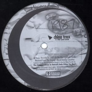 Theo Parrish - Insane Asylum - SS012 - SOUND SIGNATURE