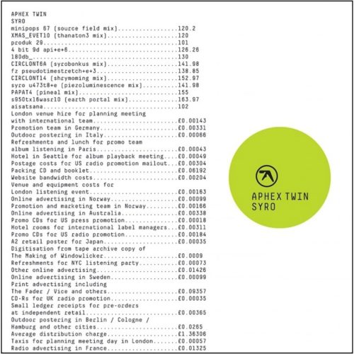 Aphex Twin - Syro - WARPLP247 - WARP RECORDS