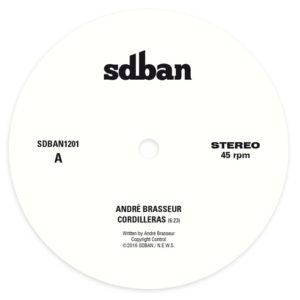 Andre Brasseur - Cordilleras / Stress - SDBAN1201 - SDBAN