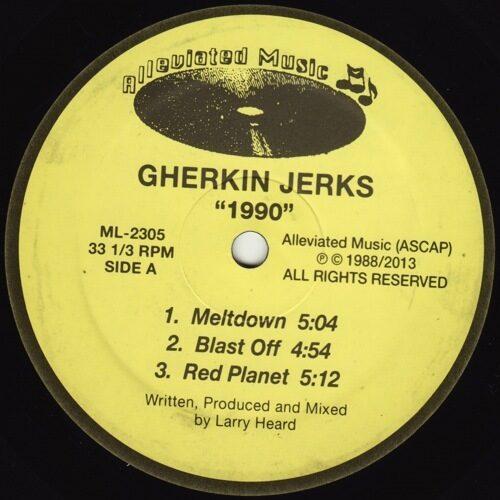 Gherkin Jerks - 1990 EP - ML2305 - ALLEVIATED