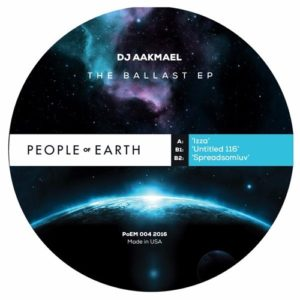 Dj Aakmael - The Ballast Ep - POEM004 - PEOPLE ON EARTH