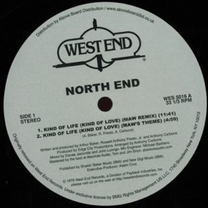 North End - Kind Of Life/ Maw Rmx - WES5016 - WESTEND