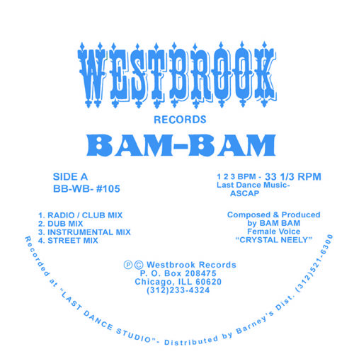 Bam-Bam - Give It To Me - BB-WB-105 - WESTBROOK