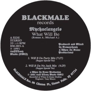 Mychaelangelo ( Romanthony ) - What Will Be - BM-001 - BLACK MALE