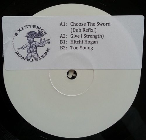Persian Prince - Choose The Sword (dub Refix) - ER011 - EXCISTENCE IN RESISTENCE