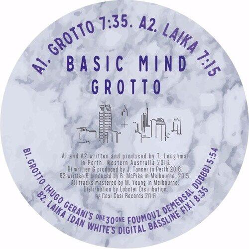 Basic Mind - Grotto Ep - COSI001 - COSI COSI