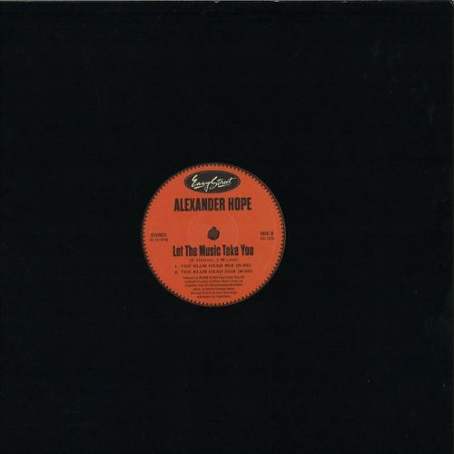 Alexander Hope - Saturdays/ Let The Music Take You - GR1206 - GROOVIN RECORDs