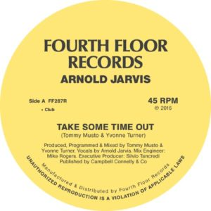 Arnold Jarvis - Take Some Time Out - FF287R - FOURTH FLOOR