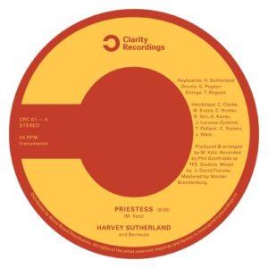 Harvey Sutherland & Bermuda - Priestess / Bravado - CRC01 - CLARITY RECORDINGS