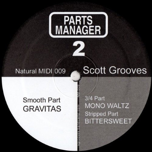 Scott Grooves - Parts Manager 2 - NM009T - NATURAL MIDI