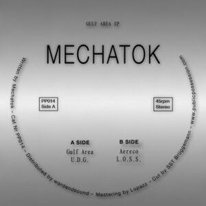 Mechatok - Gulf Area Ep - PP014 - PUBLIC POSESSION