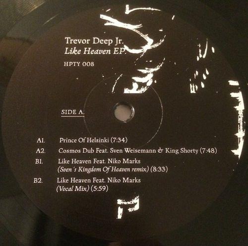 Trevor Deep Jnr - Like Heaven - HPTY008 - HPTY