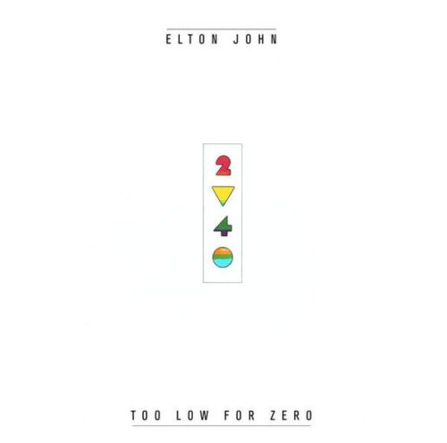 Elton John - Too Low For Zero - 602557070842 - MERCURY