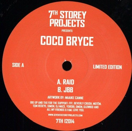 Coco Bryce - Raid / Jbb - 7TH12014 - 7TH STORY PROJECTS