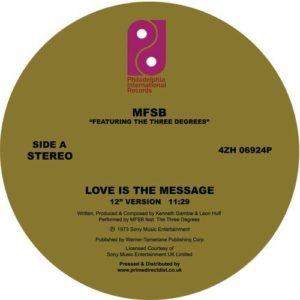 Mfsb Ft. The Three Degrees - Love Is The Message/ Tsop - 4ZH06924P - PHILADELPHIA INTERNATIONAL