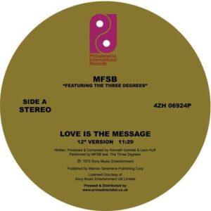 Mfsb Ft. The Three Degrees - Love Is The Message/ Tsop - 4ZH06924P - PHILADELPHIA INTERNATIONAL