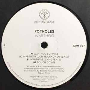 Potholes - Warthog - COM-007 - COMMON LABOUR