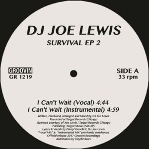 Dj Joe Lewis - Survival Ep 2 - GR1219 - GROOVIN RECORDs