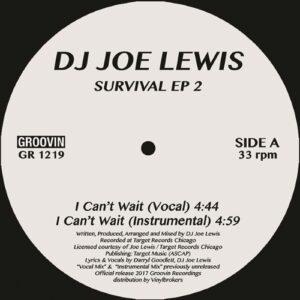 Dj Joe Lewis - Survival Ep 2 - GR1219 - GROOVIN RECORDs