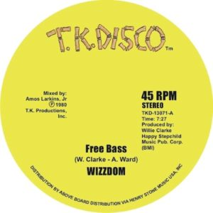 Wizzdom/ Jo Borne Horne/ Herman Kelly - Free Base/ Is It In ? - TKD13071 - TK DISCO