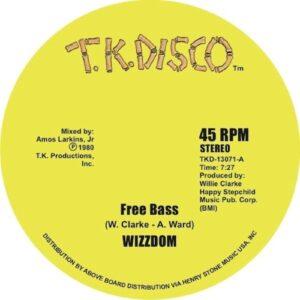 Wizzdom/ Jo Borne Horne/ Herman Kelly - Free Base/ Is It In ? - TKD13071 - TK DISCO