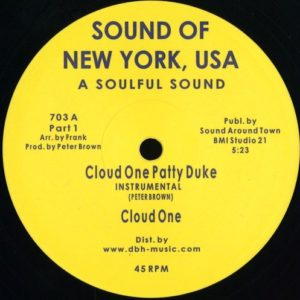 Cloud One - Patty Duke - 703 - SOUND OF NEW YORK