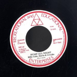 Billy Cole - Bump All Night / Woman - DB012 - ROCK A SHACKA