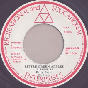 Billy Cole - Little Green Apples / Mystic Mood - DB013 - ROCK A SHACKA