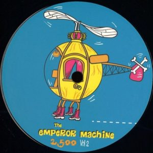 The Emperor Machine - 2500 Vol. 2 (incl. Wolf Müller  Remix) - INT035 - INTERNASJONAL