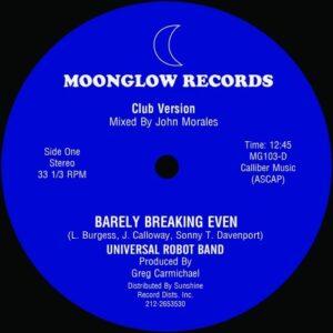 Universal Robot Band  - Barely Breaking Even - Full 12:45 John Morales Mix - KINF004 - KINFINE