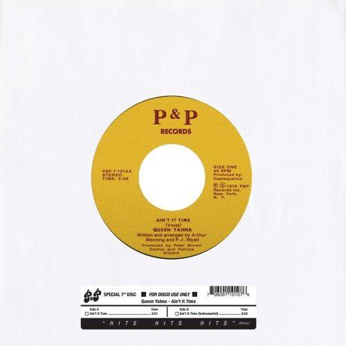 Queen Yahna - Ain't It Time - PP1010-7 - P&P