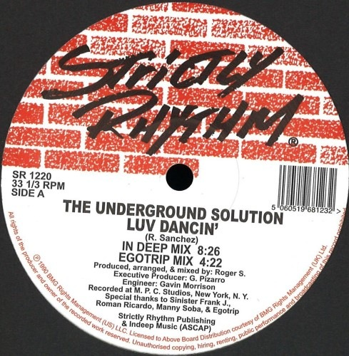Underground Solution - Luv Dancin - SR1220 - STRICTLY RHYTHM