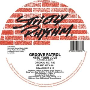 House 2 House - I Need Your Love - SR1252R - STRICTLY RHYTHM