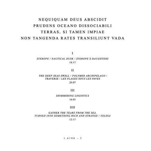 Unknown - Nequiquam Deus Abscidit Prudens Oceano Dissociabili Terras