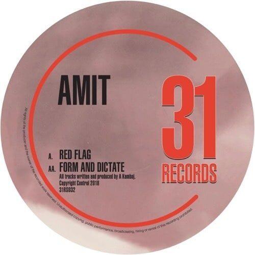 Amit - Red Flag - 31RS032 - THIRTYONE RECORDINGS