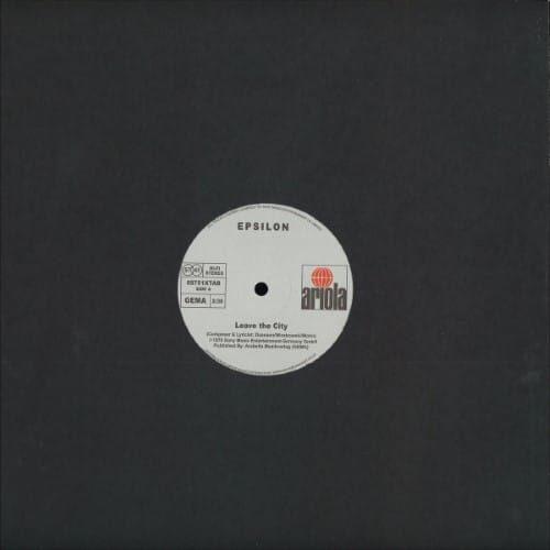 Epsilon - Leave The City - 89751XTAB - ARIOLA