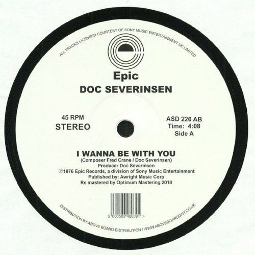 Doc Severinsen - I Wanna Be With You ( Dj Harvey Edit ) - ASD220AB - EPIC