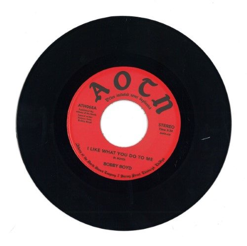 Bobby Boyd - I Like What You Do To Me - ATH068 - ATHENS OF THE NORTH