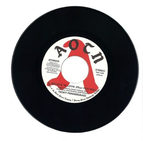 Teddy Pendergrass - Believe In Love - ATH069 - ATHENS OF THE NORTH